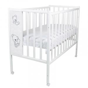 Кровать ВДК Magico Loft Teddy колесо/качалка, белый