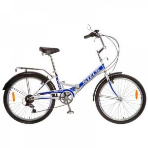 "Велосипед 24"" STELS Pilot-750 16"" 6 скор. белый/синий"
