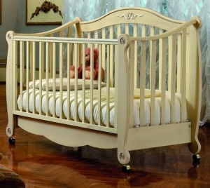 Кровать Pali Rigoletto Cot, слон.кость