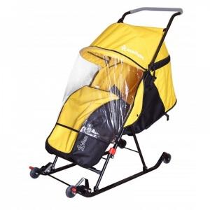 Санки-коляска Дэми СДП-02.02 (желтый)