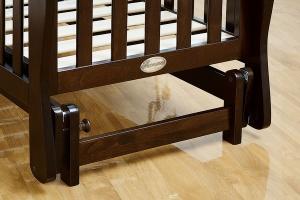 """Кровать Giovanni """"Fresco"""" CHOCOLO д/новорожденных 120*60"""