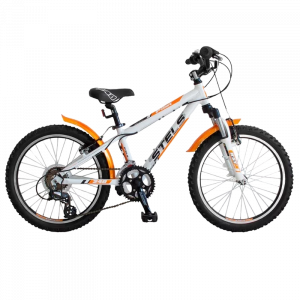 """Велосипед 20"""" STELS Pilot-240 Gent 11"""" 1скор. белый/оранжевый/чёрный"""