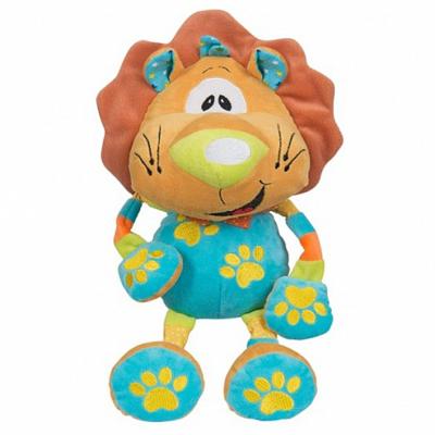Мягкая игрушка BabyOno Львенок с погремушкой 1390