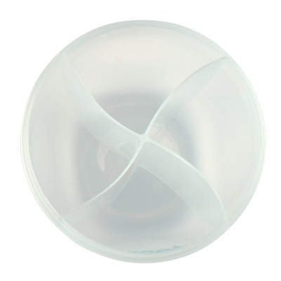 """Контейнер для хранения детского питания Lubby 20363 """"Для молочной смеси"""" (4 секц"""