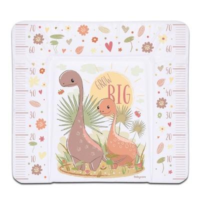 Пеленальный матрасик Babycare 820х730х210 (Динозаврик, бежевый (Dino grow big, b