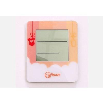 Термометр Rant ТУ-17 цифровой с гигрометром и часами