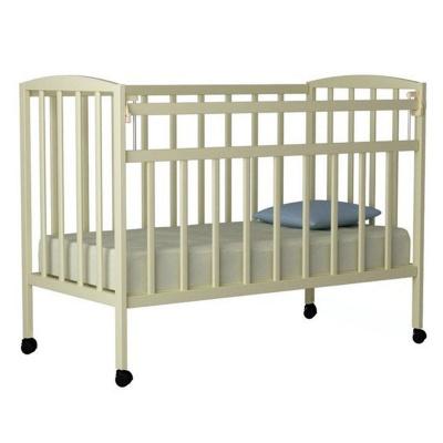 Кровать ВДК Magico mini (Кр1-02 м) колесо/качалка, слон.кость