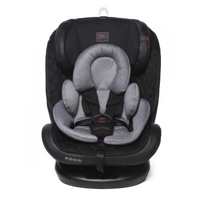 """Автокресло Baby Care """"Shelter"""" (0-36кг), (ЭКО-Черный/Серый Хлопок (Eco Black/Gre"""