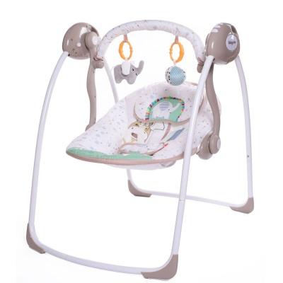 "Электрокачели Babycare ""Safari"" с адаптером (слон)"