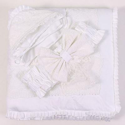 """Выписка Топотушки 02.19 """"Полли"""" конверт-одеяло, весна/лето, сатин, белый"""