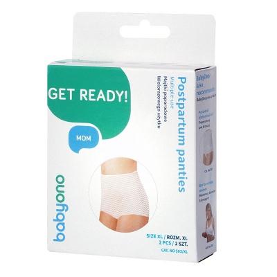 Трусики сетчатые для мам BabyOno 503/XL (2шт, многократного пользования)