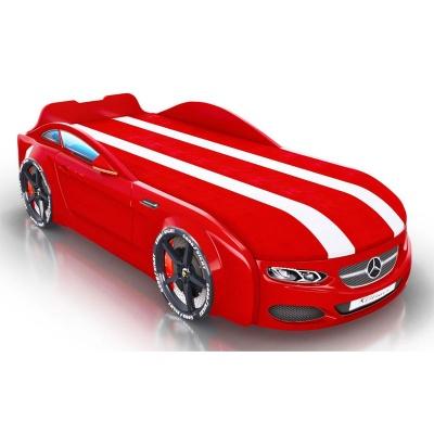 Кровать-машина Romack Real-M AMG красная (АКТ №41 от 23.09.20) Трещина