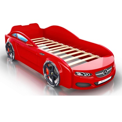 Кровать-машина Romack Real AMG красная (+ капот) (АКТ №48 от 24.09.20) Трещина