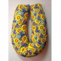 Подушка для кормления MamaLine 170 (170cm) желто-сиреневый