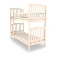 Кроватка двухъярусная Nuovita Senso Due Avorio (Слоновая кость) 190*80
