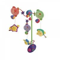 """Мобиль Felice """"Забавные зверята-5"""" электронный, д/у, мягкие игрушки, рег.громкость (арт.20841B)"""