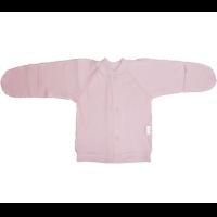 Кофточка Папитто И37-203н на кнопках (интерлок) однотонный розовый р.20-56