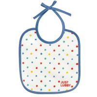 """Нагрудник Lubby 20766 на завязках """"Just LUBBY"""" от 0 мес., текстиль"""