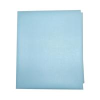 Наматрасник Папитто 0060 ПВХ на резинке 120х60 голубой