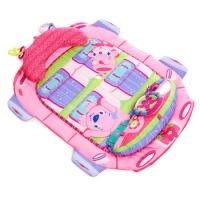 """Коврик Bright Starts """"Розовый автомобиль"""", новый 9299"""