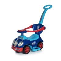 """Каталка Baby Care """"Cute Car"""" музыкальный руль 558 W (Синий/Красный (Blue/Red))"""