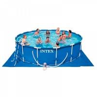 Бассейн Intex металлический каркасный 28228NP 458  х 84 см