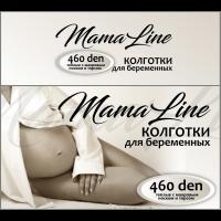 Колготки д/берем. MamaLine 807 460 den акрил (шерсть) махровый торс и стопа черн