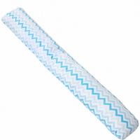Наволочка на подушку для беременных Крошкин Дом форма I (190*35 см) (голубые зиг