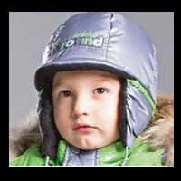 Шапка зимняя G'n'K ГУ-127(З-405/ЗС-406) син/сер-гол/син р. 50 д/мал