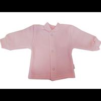 Кофточка Папитто И93-201 на кнопках розовый (махра начес) р.20-56