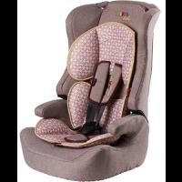 Автокресло Liko Baby 513C (Коричневый/Лен, Brown/Linen)