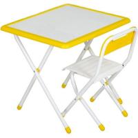 """Набор мебели """"Дэми"""" №3-06 """"Дэми- White"""" (бело-желтый)"""