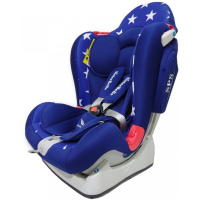 Автокресло SisterBeBe Capsule JM03 гр. 0+1/2 синий/синий со звездами (stars blue