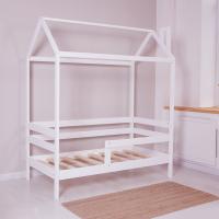 """Кроватка-домик Incanto """"DreamHome"""" белый"""