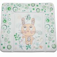 Пеленальный матрасик Babycare 820х730х210 (Фанни Банни, зеленый (Funny Bunny, gr