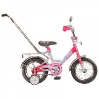 """Велосипед 12"""" STELS Magic 8"""" розовый/белый"""