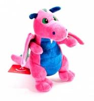 Игрушка мягкая Aurora Дракон розовый, 20 см ( 10-505)