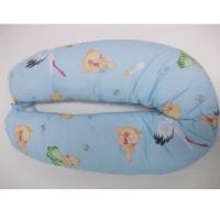 Подушка для кормления MamaLine 160 (160cm) голубой малыши