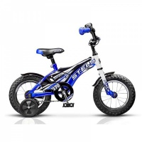 """Велосипед 12"""" STELS Pilot-170 синий/белый"""