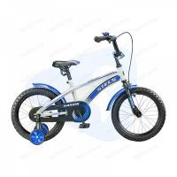 """Велосипед 16"""" STELS Arrow 9.5"""" белый/синий/чёрный"""