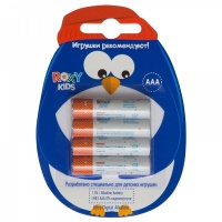 Батарейки ROXY-KIDS R-LR03-4 4 шт. Пингвин Ultra Digital Premium (тип ААА)