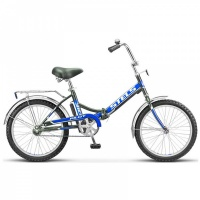 """Велосипед 20"""" STELS Pilot-310 13"""" чёрный/синий"""