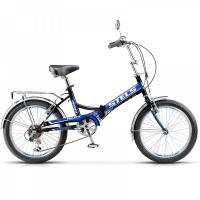 "Велосипед 20"" STELS Pilot-450 15"" 6 скор. тёмно-синий/синий"