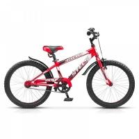 """Велосипед 20"""" STELS Pilot-200 Gent 11"""" красный/чёрный/белый"""