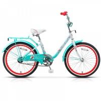 """Велосипед 20"""" STELS Pilot-200 Lady 12"""" светло-зелёный"""
