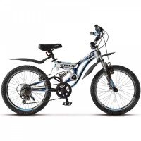 "Велосипед 20"" STELS Pilot-270 13"" 6 скор. бело-синий"