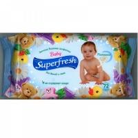 Влажные салфетки Superfresh Для детей и мам, 72 шт.