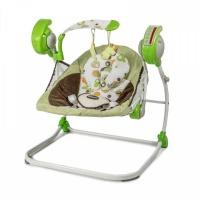 Электрокачели Baby Care Flotter с адаптером (Зелёный, Green)