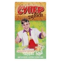 """Юный химик, арт.806, набор для опытов и экспериментов """"Супергубка"""" Висма"""