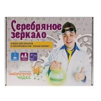 """Юный химик, арт.507, набор для опытов и экспериментов """"Серебряное зеркало"""" Висма"""